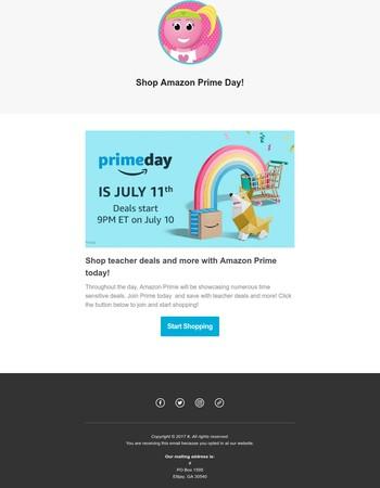 It's Amazon Prime Day!