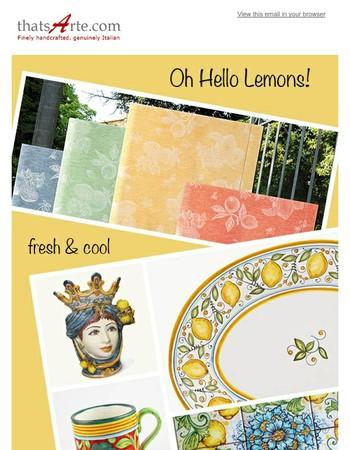 Happy Lemony Summer