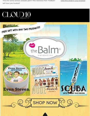 TheBalm Beach Party is ON + Free Gift with Your Purchase