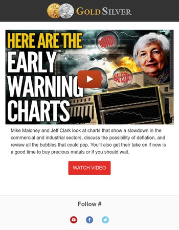 Early Warning Charts: BUBBLES POPPING