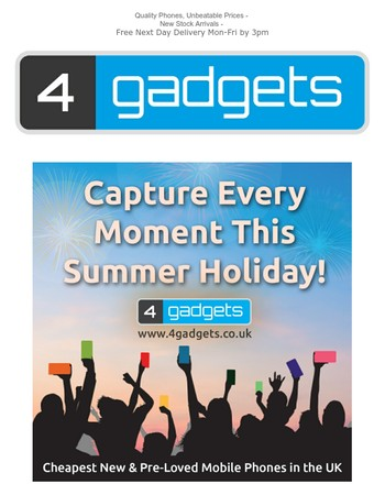 Capture Every Moment On a New or Used Handset This Summer!