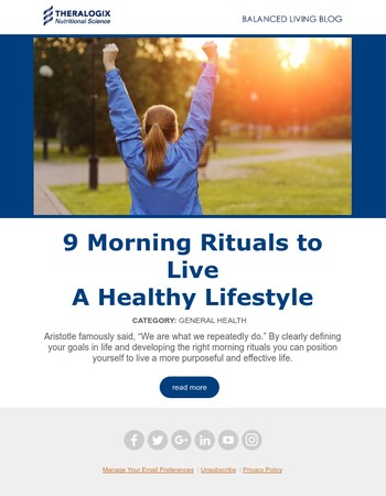 9 Morning Rituals to Live a Healthy Lifestyle