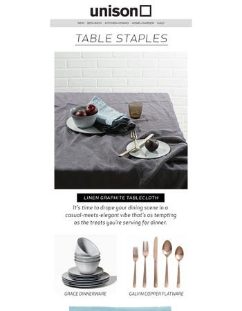 Must Have Linen For Your Table