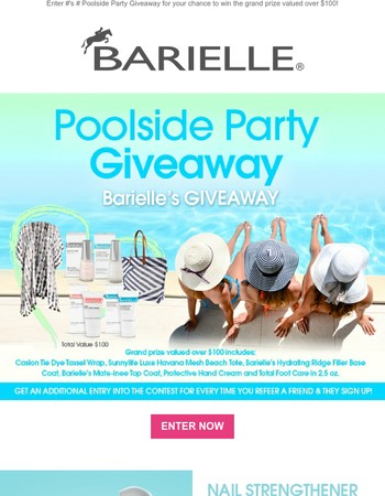 Barielle's July Giveaway is Here!