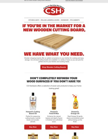 Time to replace your wooden cutting board?