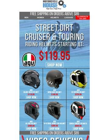 Featured Brand: AGV Helmets