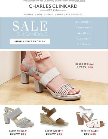 Sale High Sandals!