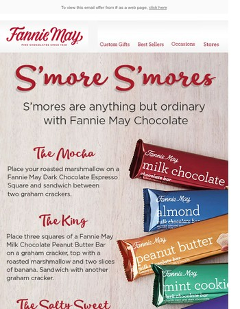 3 Unique S'mores to Try This Summer