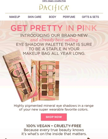 NEW!  Get Pretty in Pink