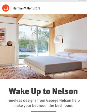 Spend the Day in Bed with George Nelson