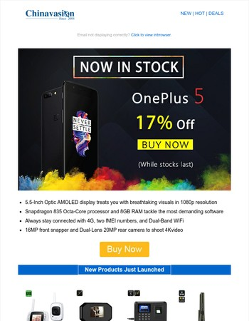 OnePlus 5 - the most anticipated Chinese Phone of the year!