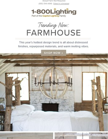 Get the Look: Farmhouse