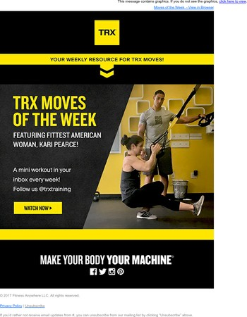 TRX Moves of the Week - Watch Now