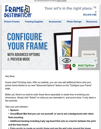 Step Into The Future With Frame Destination