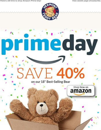 Vermont Teddy Bear Coupons: 75% off Coupon, Promo Code Oct ...