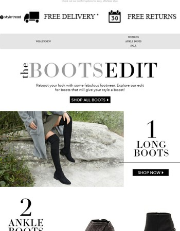 The Boots Edit