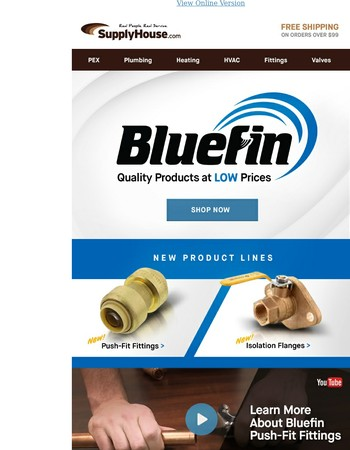 New Products from Bluefin and More