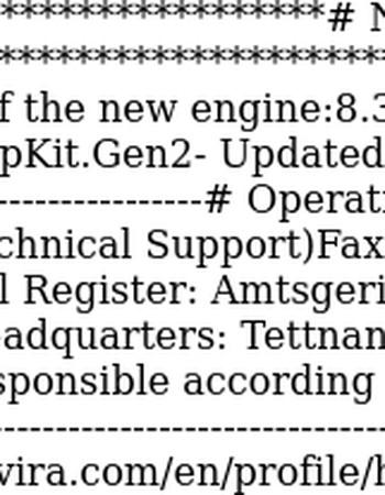 Engine Update Notification (Engine 8.3.44.102)