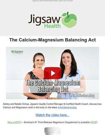 [VIDEO] The Calcium-Magnesium Balancing Act | #AshWednesday