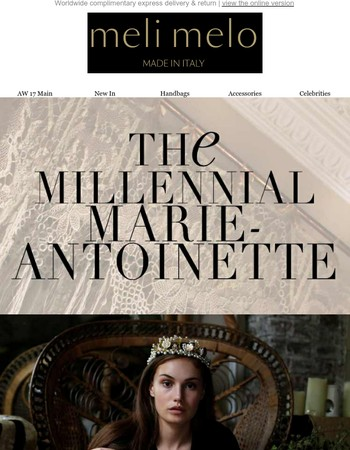 Introducing The Millennial Marie-Antoinette