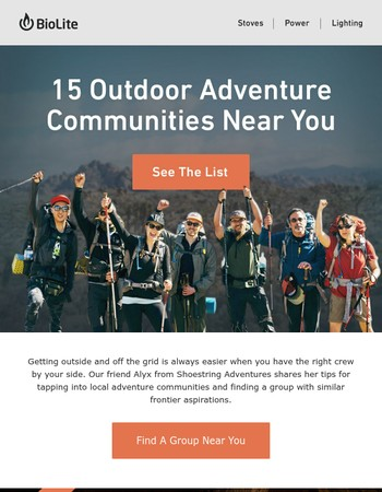 How To Find Your Outdoor Adventure Community