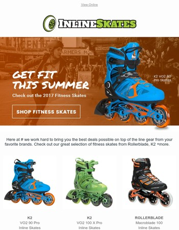Get Active Outdoors | Fitness Skates For Men & Women