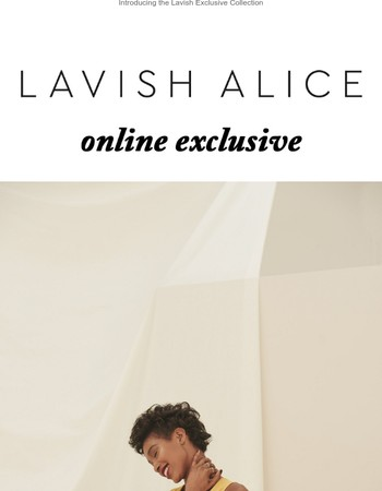 Lavish Exclusive   New In
