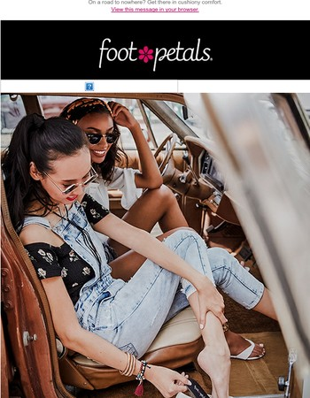 Epic Summer Road Trip: Stay Cool and Comfy with Foot Petals.