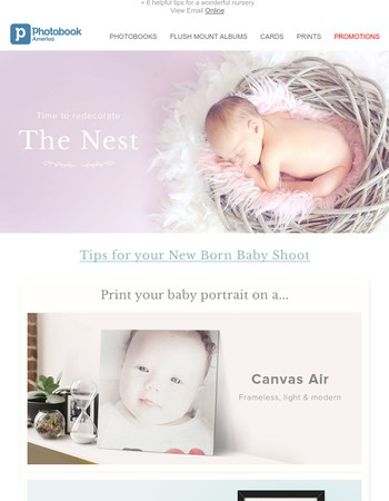 Baby's space (or yours!) got a whole lot homier