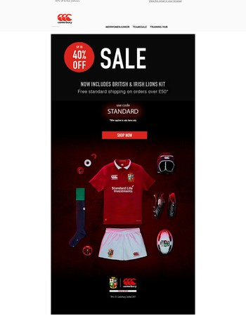 Lions Sale Now On