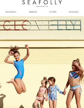 Just Landed   Seafolly Kids