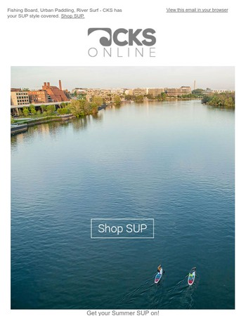 Get your Summer SUP on! SUP boards from Hala, Badfish, NRS, Starboard and more...