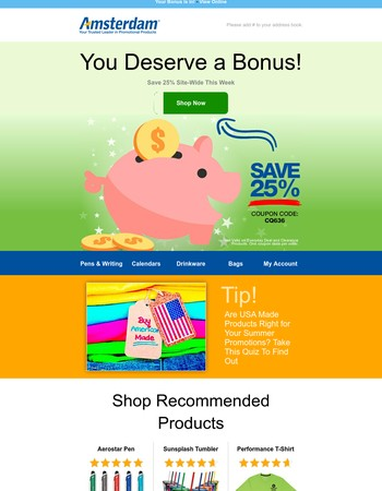 Last Chance for BONUS Savings
