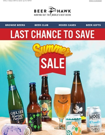 Last Chance To Save
