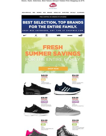 New WSS Coupons Inside! Bring to Store or Use Online