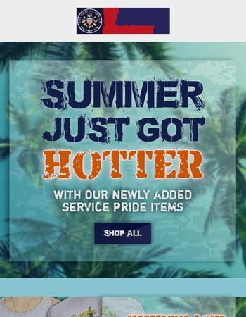 Summer just got hotter!