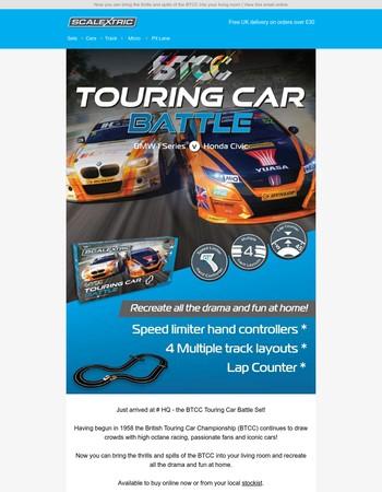 Available now - the BTCC Touring Car Battle Set!