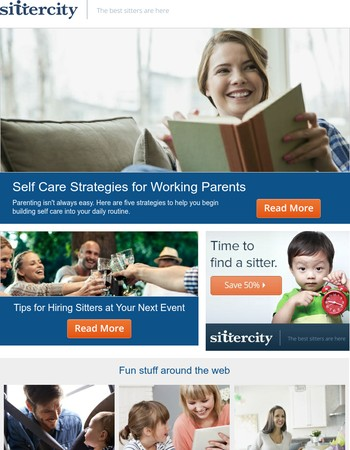 Self care strategies for working parents