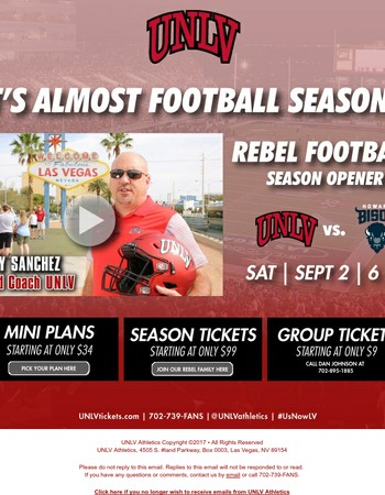 WATCH: Head Coach Tony Sanchez & Howard's Head Coach Mike London have a message for you...