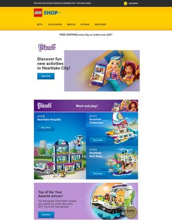 Summer 2017 Checklist: LEGO® Friends ✓ sunshine ✓ loads of fun ✓