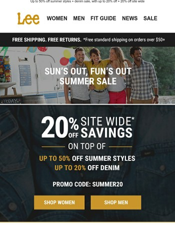 The too hot to handle summer sale is upon us.