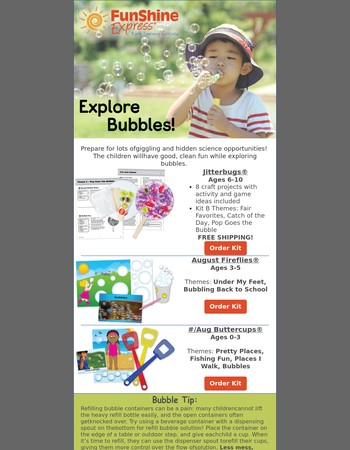 Bubble Fun for Ages 0-10!