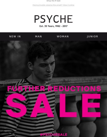 FURTHER REDUCTIONS | Get them before they go