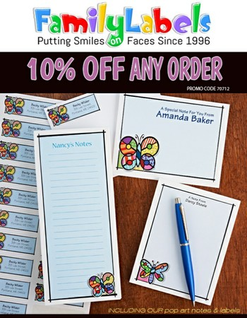 10% off any order!