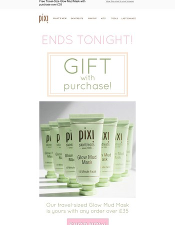 Last Chance To Get a Free Gift! Offer Ends Tonight!