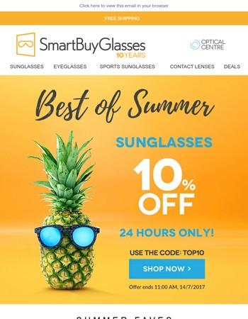 SmartBuyGlasses UK Newsletter