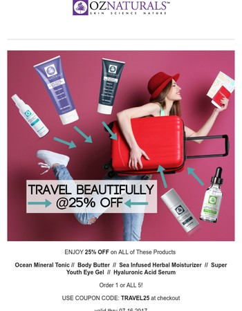 Our BEST Products For When You TRAVEL  I  25% OFF (WOW!)
