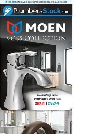 See the Simple Elegance of Moen Voss