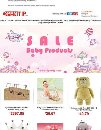 SALE - Baby Products