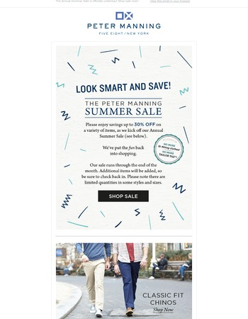 Look Smart and Save!